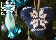 2017010 Knit Fair Isle Hearts pattern by Midknits Knitting Patterns, Crochet Patterns, Leather Repair, I Cord, Knit In The Round, Holidays 2017, Leather Pieces, Back Stitch, Heart Patterns