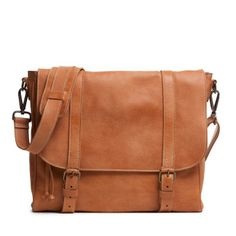 Modern Satchel Tribe - made in Canada, 100% Italian leather. @Roots Canada