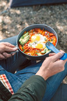Granola is great, but is it really enough to inspire you to leave the comfort of your warm sleeping bag? We've got chilaquiles with eggs on the Co-op Journal. Enjoy!