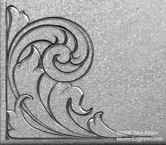 Sam Alfanos Tips & Tricks for Hand Engravers - Relief Engraving