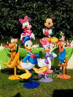 Apoyo de foto de cumpleaños Mickey Mouse Clubhouse cumpleaños