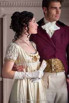 Lee Avison young attractive regency couple indoors Couples