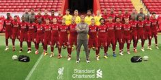 Liverpool FC and Barcelona FC record 1976 to Barcelona vs. Liverpool Player list, Champions League record 1976 to Liverpool Fc Team, Liverpool England, Liverpool You'll Never Walk Alone, Liverpool Fc Wallpaper, Liverpool Wallpapers, Squad Pictures, This Is Anfield, European Soccer, Steven Gerrard