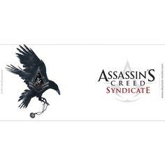 Mug Assassin's Creed Syndicate Jacob on bird http://www.abystyle-studio.com/fr/mugs-assassin-s-creed/501-mug-assassin-s-creed-syndicate-jacob-on-bird.html