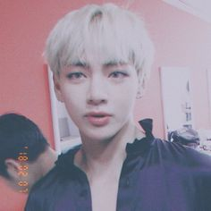 WOWIE WOW WOW I LOVE HIS BLONDE HAIR. I THINK KOOKIE WOULD LOOK GOOD WITH BLODE HAIR TOO.