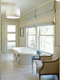 Spa Style: Giant soaking tub.