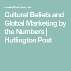 cultural beliefs in indonesia marketing implication A marketing strategy has important implications for product design and promotion liberty university: global marketing strategies and implications for us based firms.
