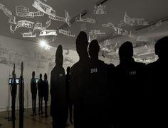 """35 Jahre Landeskulturpreis für Architektur: Die Ausstellung """"ausgezeichnet"""" huldigt den Preisträgern im afo Architekturforum OÖ. Mehr dazu hier: http://www.nachrichten.at/nachrichten/kultur/Oberoesterreichs-seit-1978-ausgezeichnete-Architekten-auf-einen-Blick;art16,1250543 (Bild: Tollerian)"""