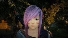 Black Desert EU's 1st Closed Beta Testing; Kawaii looking Tamer... Oh yeah she's sad because I am 'playing' her