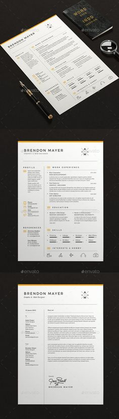 simple  u0026 clean infographic    timeline resume design for