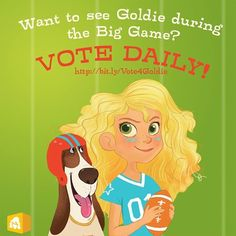 Please vote for GoldieBlox to win a Superbowl Commercial that will spread the word about their cool building toys but also show millions of people that girls are engineers too! We need to support all organisations that are pushing the girl empowerment message out to the mainstream. https://www.facebook.com/photo.php?fbid=722639874431152&set=a.196002453761566.54025.163394857022326&type=1