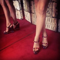 Red Carpet Red Soles!! #shoes #highheels #louboutin #christianlouboutin