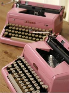 The Retrophile Files:  Tippy-Tapping on Tricked Out Vintage Typewriters