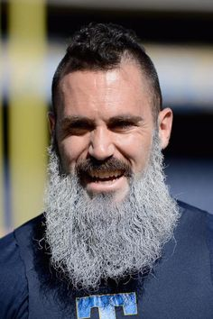 Safety Eric Weddle of the Chargers and his awesome beard.