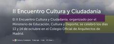 Encuentro Cultura y Ciudadanía 2016 Crónica tuitera
