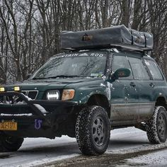 Save by Hermie Subaru Forester Mods, Subaru Forester Lifted, Subaru Outback, Dream Garage, Mk1, Tents, Offroad, Ranger, Automobile