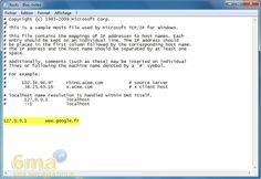 Bloquer l'accès à un site web sur tous les navigateurs sous Windows