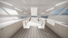 The 8th #PorcelanosaAwards finalists: Carlos Sánchez, Andrés López and Sevak Asatryan, in Forward-looking projects #architecture #InteriorDesign #Boat #design