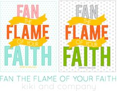 Free faith print in 2 colors from kiki and company #generalconference