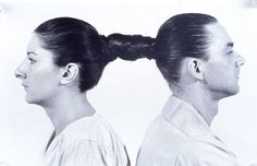 Marina Abramović and Ulay  Relation in Time, 1977  Performance; 17 hours  Studio G7, Bologna