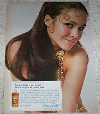 1970 ad page - sexy ERIN GRAY Bonne Bell Ten-O-Six beauty vintage PRINT ADVERT