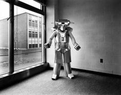 Leslie Krims - Uranium Robot, 1976. The Science Fiction Gallery