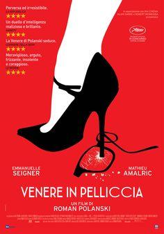 "luz-sonriente: ""My woman plays very bad"" International poster for Roman Polanski's 'Venus In Fur' Roman Polanski, Venus, Cannes, Robert Bresson, Dm Poster, Seigner, T Movie, Cool Posters, Movie Posters"