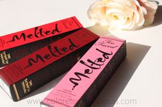 Labiales Melted - Too Faced [Strawberry, Velvet
