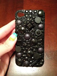 My black DIY iPhone case :-)