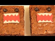 Rosanna: Today my guest Erin helped me make Domo Kun Brownies! I really enjoy making nerdy themed goodies and decorating them. Im not a pro, but I love baking as a hobby. Please let me know what kind of treat you would like me to make next!   SPECIAL GUEST! Erins Channel: http://www.youtube.com/user/happileeerin  Check out photos of my other Nerdy Numm...