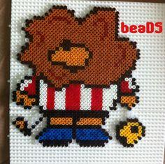 Athletic Club lion - hama beads