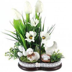 Paper Flowers, Snow Globes, Flower Arrangements, Jar, Diy Crafts, Easter Decor, Home Decor, Painted Roses, Easter Activities