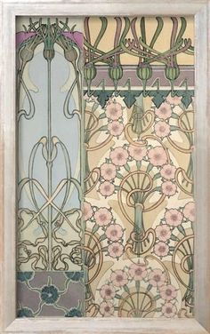 Decorative carnation design by Alphonse Mucha. From Documents Decoratifs by Alphonse Mucha and published by Librairie Centrale des Beaux Arts. Fleurs Art Nouveau, Mucha Art Nouveau, Motifs Art Nouveau, Alphonse Mucha Art, Art Nouveau Flowers, Art Nouveau Pattern, Art Nouveau Design, Art Design, Art And Illustration