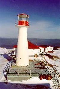 Cross Island lighthouse, Nova Scotia, Canada