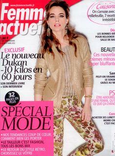 Femme Actuelle Mars 2013
