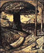 Samuel Palmer : Early Morning 1825 Pen and ink and wash, mixed with gum arabic, varnished Ashmolean via Landscape Drawings, Landscape Art, Landscape Paintings, Art And Illustration, Nocturne, New York Times Arts, English Romantic, Art Antique, Ouvrages D'art