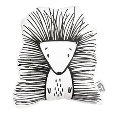 Pip the Porcupine Soft Toy Pillow by The Wild - Stuffed Toy, Plushie, Stuffed