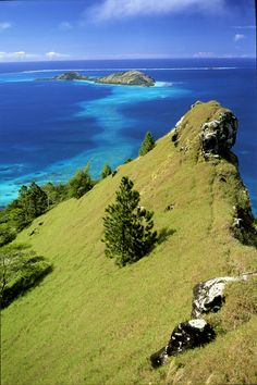 A wonderful view from Mount Duff on Mangareva Island. Credits: Philippe Bacchet