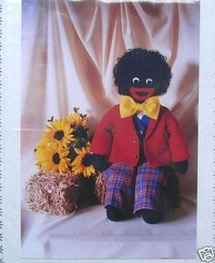 Golliwogs everywhere ! by calicocottagecrafts @eBay