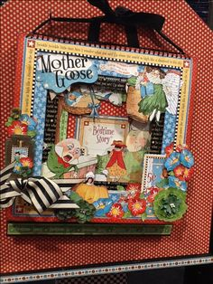 Love this box with Mother Goose from Graphic 45