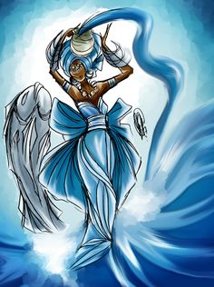 DeviantArt is the world's largest online social community for artists and art enthusiasts, allowing people to connect through the creation and sharing of art. Orisha, Beach Nail Designs, African American History Month, Siren Mermaid, Isis Goddess, Sea Witch, Black Artwork, Gods And Goddesses, Stone Painting