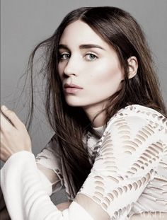 Actress Rooney Mara without piercings and stuff for Vogue