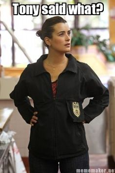 Tony said what? - Ziva Meme // NCIS