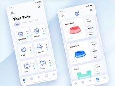 health app The Daily Hack 9 - Automated Pet App gradient tech illustration automation cards app mobile pet challenge ui daily Design Blog, Web Design, Layout Design, App Ui Design, Interface Design, Graphic Design, Flat Design, User Interface, Mobile App Design