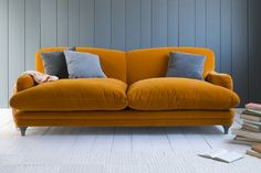 Could there be anything more agreeable than a sofa called Pudding? Here's a sneak preview of some mid-season launches from those sultans of snug at Loaf. The mini collection includes five sofas, three footstools and a new bed. Pudding is made in Britain and can be ordered in more than 120 fabrics. From £1,195; loaf.com