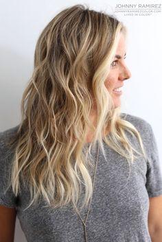 My hair color creation Hair Color by Johnny Ramirez • IG: @johnnyramirez1 • Appointment inquiries please call Ramirez|Tran Salon in Beverly Hills at 310.724.8167. #hair #besthair #fallhair #johnnyramirez #highlights #model #ramireztransalon #sunkissedhighlights #bestsalon #beauty #lahair #blonde #highlights #caramel #salon #blondehair #beautifulhair #ramireztran #ramireztransalon #johnnyramirez #sexyhair #livedinhair #livedincolor