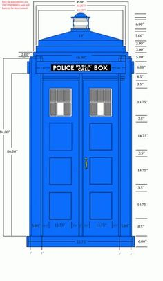 """Yes we had a TARDIS for our """"Picture your Future Party"""" - the teens loved it. It is now my garden shed."""