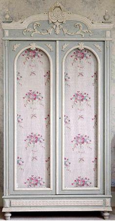 Floral armoire
