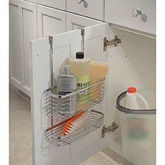 Over the Cabinet Door Double Basket - by Interdesign