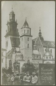 Naczelnik Józef Piłsudski na Wawelu, 19 października 1919 r.